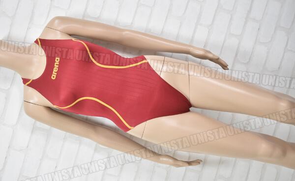 ARENA アリーナ ARN-7021W X-PYTHON2 エックスパイソン2 RIMIC リミック FINA ハイカット女子競泳水着 レッド