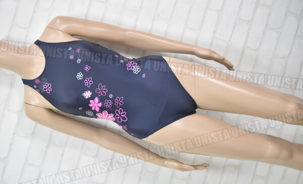 ASICS アシックス AL3091 HYDRO SP ハイドロSP 女子競泳水着 ネイビー