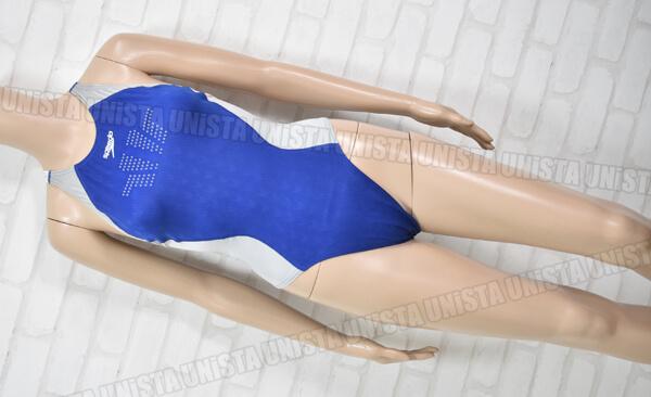 SPEEDO スピード FASTSKIN FS2 ファーストスキンFS2 Voltex Controller 女子競泳水着 ネイビー・シルバー