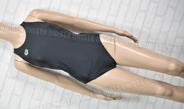 ARENA アリーナ ARN-7051WE UROKOSKIN-ST ウロコスキンST SAFELYBACK FINA女子競泳水着 ブラック