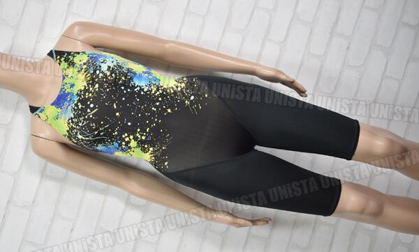 ARENA アリーナ X-PYTHON2 エックスパイソン2 FINA ハーフスパッツ女子競泳水着 ブラック