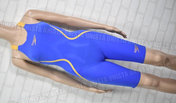 SPEEDO スピード SD46H01 LZR RACER J レーザーレーサーJ FINA ハーフスパッツ女子競泳水着 ブルー