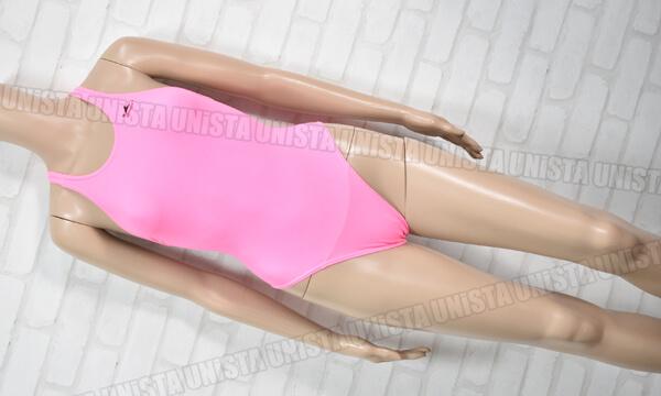YINGFA インファー 極薄ハイレグワンピース水着・女子競泳水着 無地 ピンク
