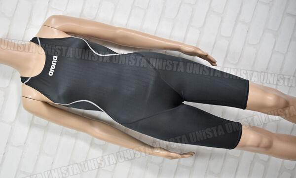 ARENA アリーナ X-PYTHON2 エックスパイソン2 ハーフスパッツ FINA 女子競泳水着 ブラック
