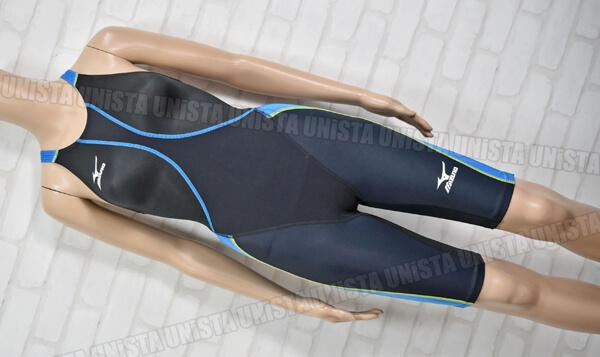 MIZUNO ミズノ 85OC-320 MX-SONIC10 ハーフスパッツ FINA 女子競泳水着 ブラック・ブルー