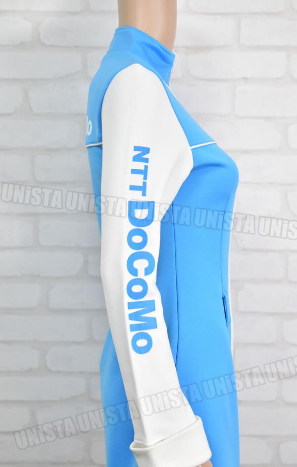 NTT DOCOMO ドコモ キャンペーンガール衣装・制服 ホワイト・ブルー サイド