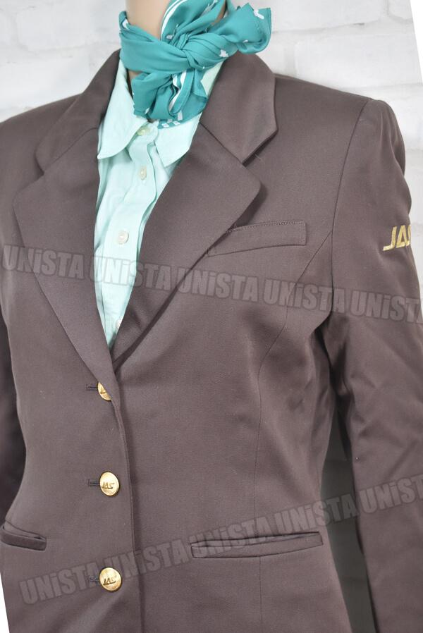 希少 正規品 鑑定済 JAS 旧日本エアシステム 5代目グランドスタッフ・地上職 企業制服3