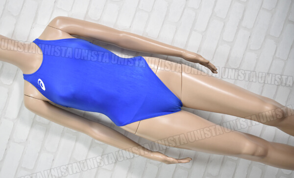 ASICS アシックス ALS85T HYDRO CD ハイドロCD 女子競泳水着 ブルー