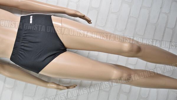 NISHI ニシスポーツ 女子陸上レーシングブルマー・スポーツブルマー ブラック・ホワイト