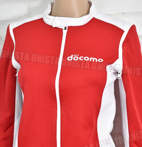 正規品 NTT DOCOMO ドコモ キャンペーンガール衣装・企業制服 ホワイト・レッド3