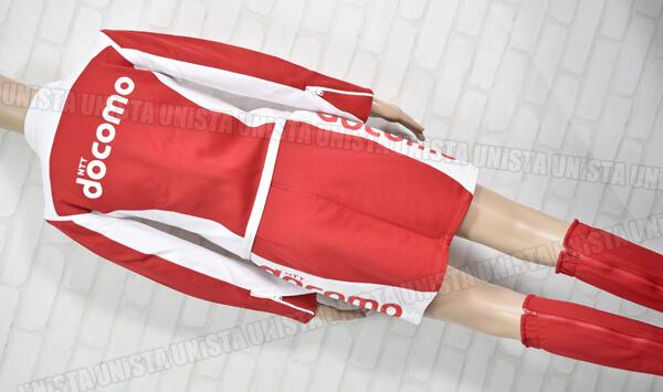 正規品 NTT DOCOMO ドコモ キャンペーンガール衣装・企業制服 ホワイト・レッド2