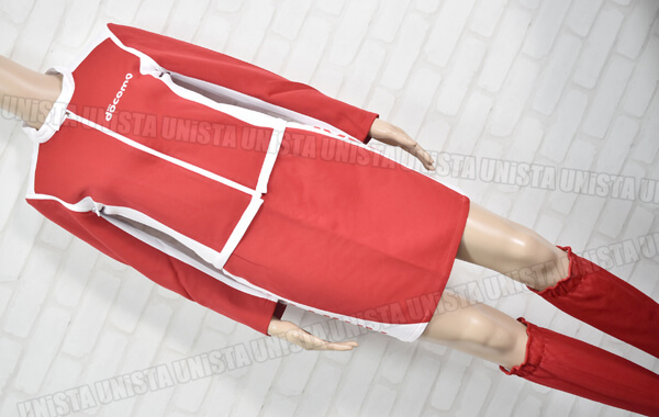 正規品 NTT DOCOMO ドコモ キャンペーンガール衣装・企業制服 ホワイト・レッド