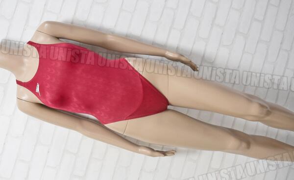 SPEEDO スピード 83OE-90263 AQUABLADE2 アクアブレード2 マーキュライン 女子競泳水着 レッド
