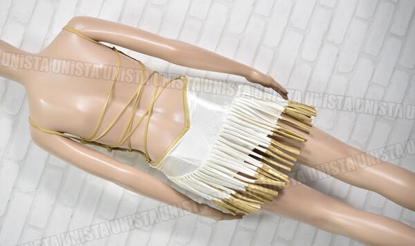 正規品 2004 オートギャラリー HONDA STYLE ホンダスタイル レースクイーン衣装・コンパニオン衣装 ホワイト・ゴールド3