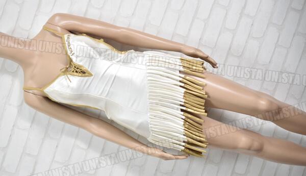 正規品 2004 オートギャラリー HONDA STYLE ホンダスタイル レースクイーン衣装・コンパニオン衣装 ホワイト・ゴールド1