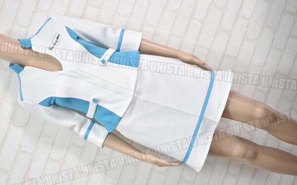 正規品 ORDER UNIFORM オーダーユニフォーム NTT Docomo ドコモ キャンペーンガール衣装 ホワイト・ブルー1