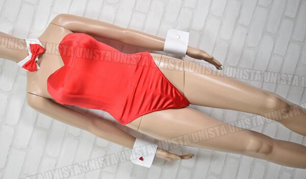 正規品 DARM アトリエダーム 高級 バニーガール衣装・コスプレ衣装 レッド