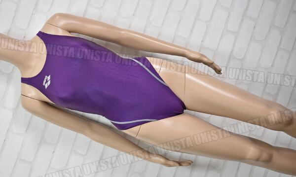 ARENA アリーナ ARN-6012WN NUX-F ニュークスF FINA 女子競泳水着 パープル