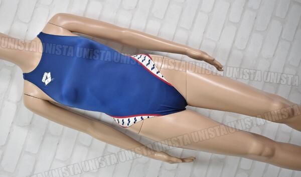 ARENA アリーナ ARN-V4510W 初期NUX ニュークス ハイカット 女子競泳水着 ネイビー
