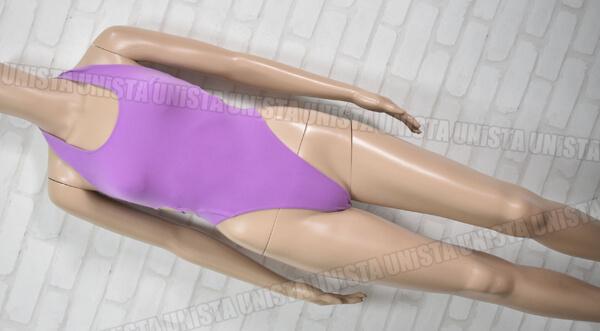 DANSKIN ダンスキン DAL1013CA バレエ・ダンス・エアロビクス Tバック型 ハイレグレオタード パープル