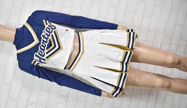 バーシティ HEARTIES 聖心女子大学チアリーディング部 チアダンス 衣装 ホワイト・ネイビー1