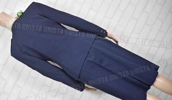 正規品 JAS 旧日本エアシステム 客室乗務員 CA キャビンアテンダント 企業制服 ネイビー4