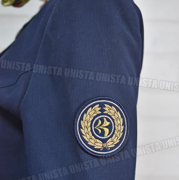 正規品 JAS 旧日本エアシステム 客室乗務員 CA キャビンアテンダント 企業制服 ネイビー2