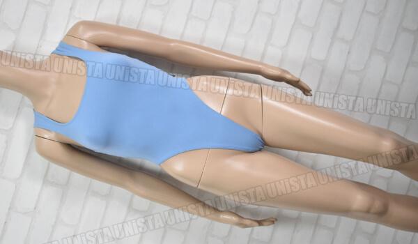Wacoal SPORTS ワコール ダンス・エアロビクス Tバック型 ハイレグレオタード ライトブルー