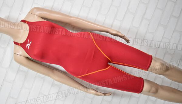 MIZUNO ミズノ MIGHTYLINE マイティライン ハーフスパッツ水着・女子競泳水着 レッド