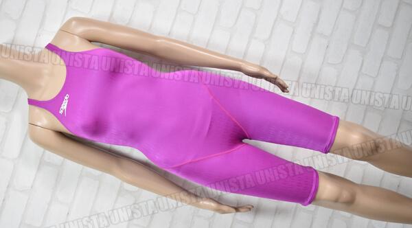 SPEEDO スピード AQUABLADE-Σ アクアブレードシグマ ハーフスパッツ水着・女子競泳水着 mizuno製 パープル