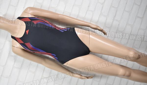 adidas アディダス G81429 INFINITEX インフィニテックス 女子競泳水着 ブラック