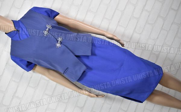 チャイナエアライン 中華航空 CA キャビンアテンダント 企業制服 ブルー2