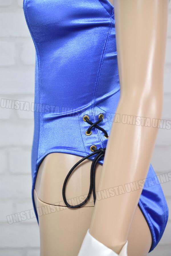 okadaya オカダヤ PEARL PINK パールピンク 高級バニーガール衣装 バニースーツ サファイアブルー2