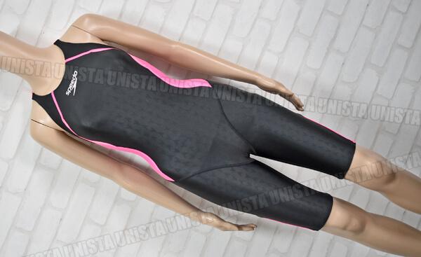 SPEEDO スピード SD46H3S1 FLEX-Σ フレックスシグマ セミオープンバックニースキン(VII) ハーフスパッツ FINA 女子競泳水着