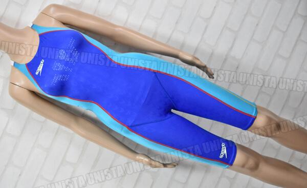 SPEEDO スピード 83OC-50472 FASTSKIN-FS2 ファーストスキンFS2 ハーフスパッツ 女子競泳水着 ブルー