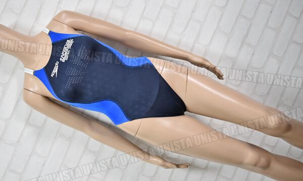 SPEEDO スピード FASTSKIN-FS2 ファーストスキンFS2 セントラルスポーツ指定 女子競泳水着 ネイビー・ブルー mizuno期