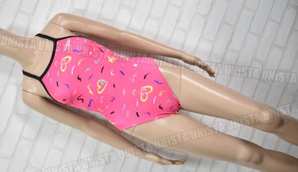 SPEEDO スピード SD55T58 ENDURANCE エンデュランス トレインカットスーツ 女子競泳水着 ピンク