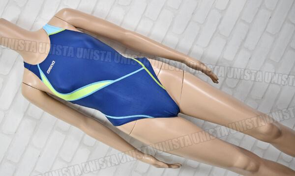 ARENA アリーナ ARN-0019WH NUX-F ニュークスF RIMIC ハイカット 女子競泳水着 ネイビー