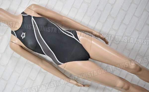 ARENA アリーナ ARN-1008WH NUX-W ニュークスW RIMIC ハイカット FINA 女子競泳水着 ブラック