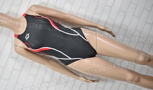 ARENA アリーナ ARN-1011WL NUX-F ニュークスF スイムテック21 女子競泳水着 ブラック・レッド