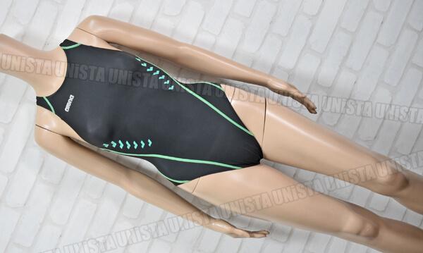 ARENA アリーナ ARN-9016WL NUX-W ニュークスW スイムテック21 女子競泳水着 ブラック・グリーン