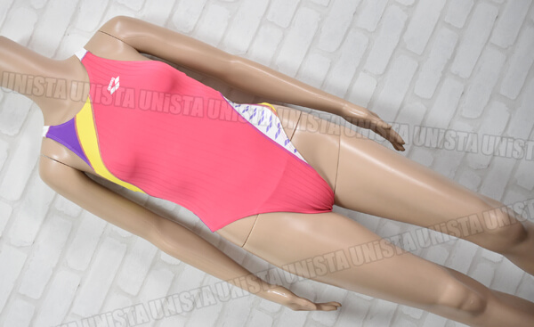 ARENA アリーナ SAR-5136W DOUBLEMAT-F ダブルマットF 女子競泳水着 ピンク・ホワイト
