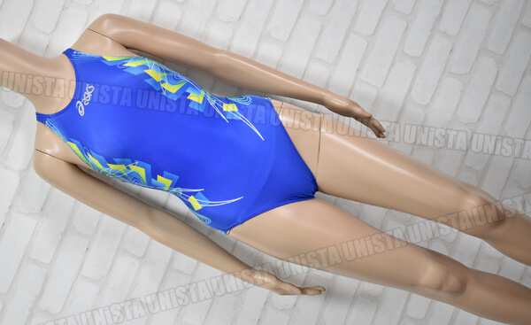 ASICS アシックス AL3092 HYDRO CD ハイドロCD 女子競泳水着 ブルー