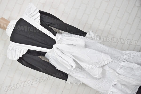 CANDY FRUIT キャンディフルーツ デカリボン付き メイド服・メイド衣装 コスプレ衣装 ブラック・ホワイト (3)