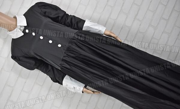 CANDY FRUIT キャンディフルーツ デカリボン付き メイド服・メイド衣装 コスプレ衣装 ブラック・ホワイト