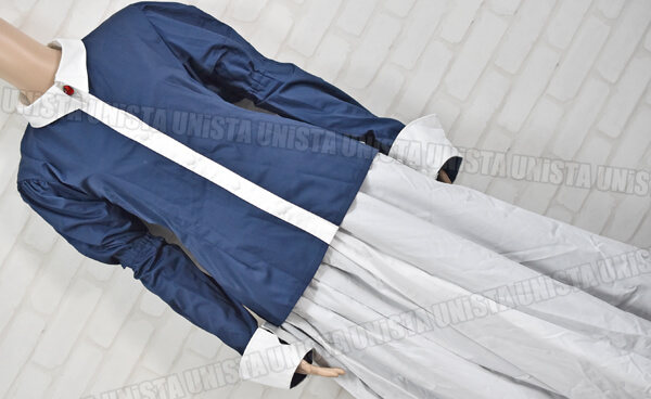 CANDY FRUIT キャンディフルーツ デカリボン付き メイド服・メイド衣装 コスプレ衣装 ネイビー・ホワイト3