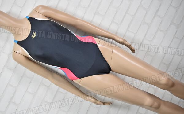 ARENA アリーナ ARN-4656W STRUSH ストラッシュ SWIMTECH21 女子競泳水着 ブラック