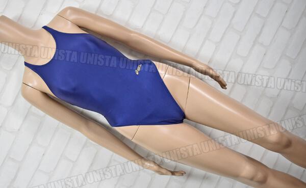 ASICS アシックス ALS120 HYDRO CD ハイドロCD スパイラルカット2 ハイカット 女子競泳水着 ネイビー