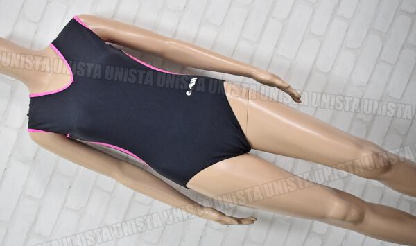 ChristianMOREAU クリスチャンモロー 女子体操競技 ノースリーブレオタード ブラック・ピンク