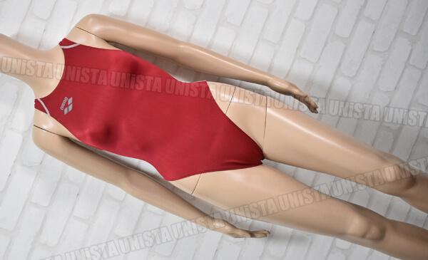 ARENA アリーナ FAR-2503WC X-PYTHON エックスパイソン RIMIC ハイカット 女子競泳水着 エンジ